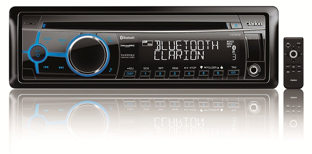 clarion cz302 bluetooth cd usb mp3 wma receiver. Black Bedroom Furniture Sets. Home Design Ideas