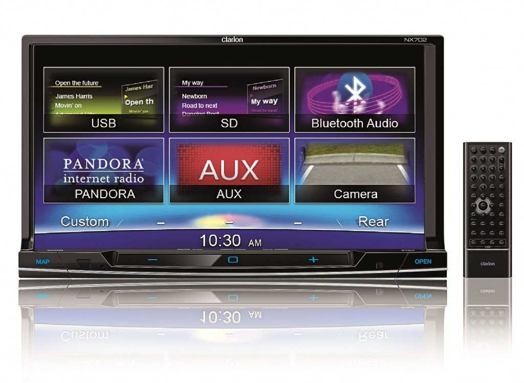 Amazon.com: Clarion NX702 Built-In Car Navigation System
