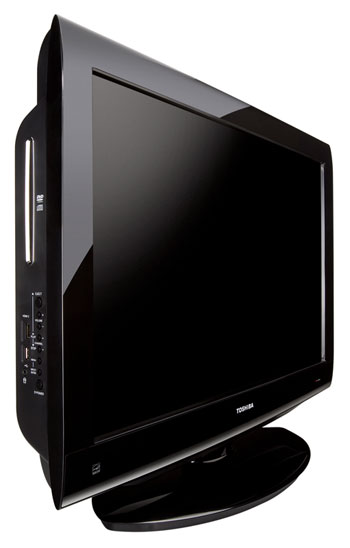 toshiba 32cv100u 32 inch 720p lcd dvd combo tv black gloss electronics. Black Bedroom Furniture Sets. Home Design Ideas