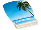 3M Mouse Pad with Gel Wrist Rest, Beach, B0013C9BOA
