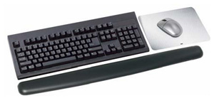 3M Gel Wrist Rest, Extra-Long (WR340LE)