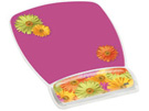 3M Mouse Pad with Gel Wrist Rest, Daisy, B0017D3UME