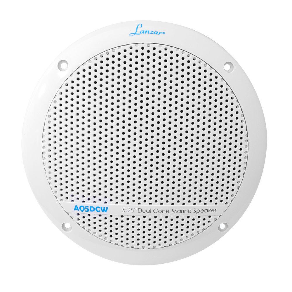 Amazon.com: Lanzar AQ5DCW 300 Watts 5.25-Inch Dual Cone