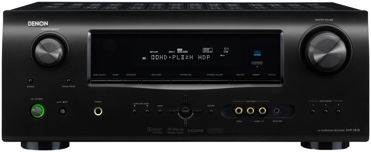 amazon com denon avr1610 5 1 channel home theater receiver with rh amazon com manual denon 1610 portugues denon avr-1610 manual download