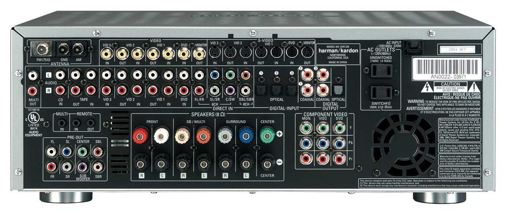 amazon com harman kardon avr 335 7 1 channel surround sound audio rh amazon com avr 435 manual