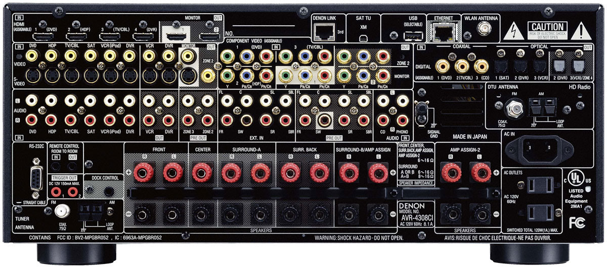 The Denon AVR-4308CI - Taking Surround Sound Receivers to the Next Level