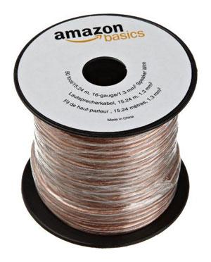 Amazonbasics 16 gauge speaker wire 50 feet amazon electronics amazonbasics 16 gauge speaker wire 50 feet greentooth Choice Image