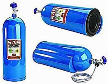 Amazon Com Bazooka Nos8 8 Inch Nitrous Bottle Car