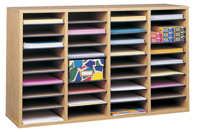 office mailbox organizer. View larger  Amazon com Safco Products 9494GR Wood Adjustable Literature