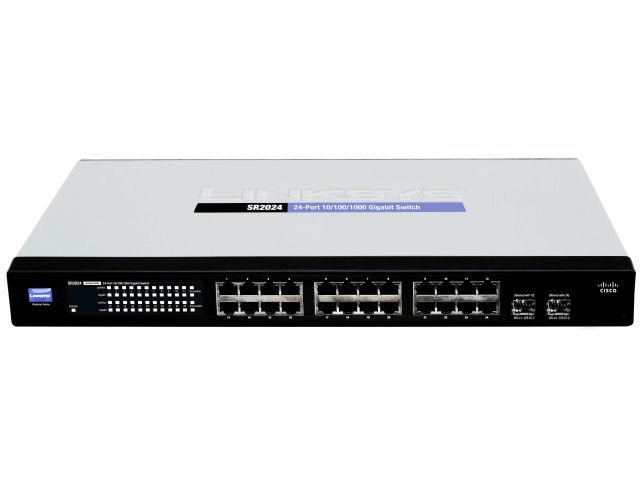 Amazon Com Cisco Sr2024 24 Port 10 100 1000 Gigabit