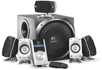f67b94b956e Logitech Z-5500 5.1 Speaker System Intensify your entertainment with true  cinematic surround sound