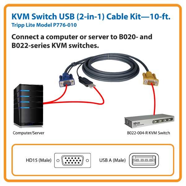 Tripp Lite P776-010 Cable