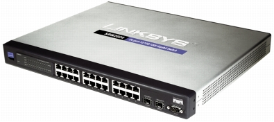 Image result for Cisco Switch 24 Port GigaBit Mag SRW2024-K9-EU