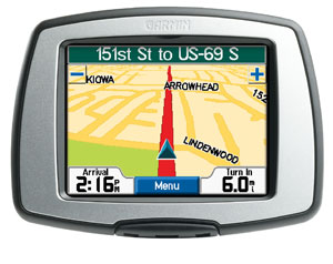 The Streetpilot C Series Gps Navigators Feature A Simple Touchscreen Interface With Automatic Route Calculation To Any Destination