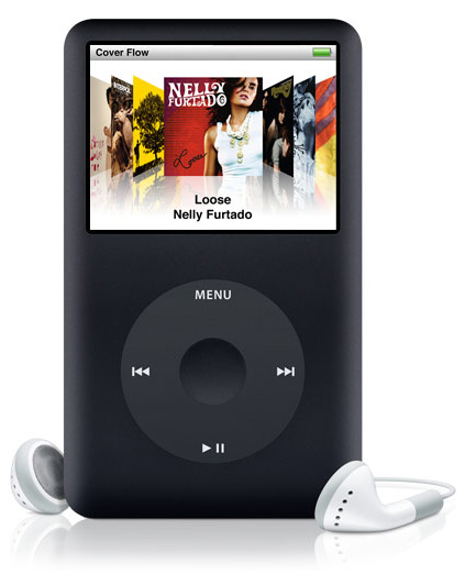 apple ipod classic 160gb 6th generation black. Black Bedroom Furniture Sets. Home Design Ideas