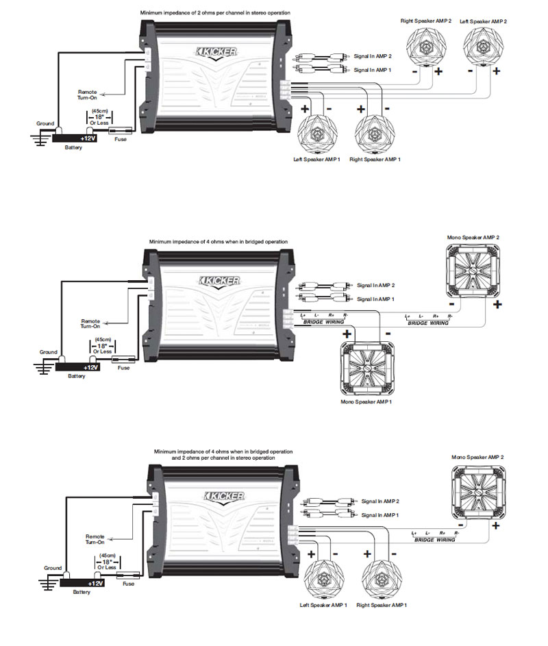 Amazon kicker 07mx3504 4x90 watt marine four channel amplifier view wiring diagram click to enlarge asfbconference2016 Image collections