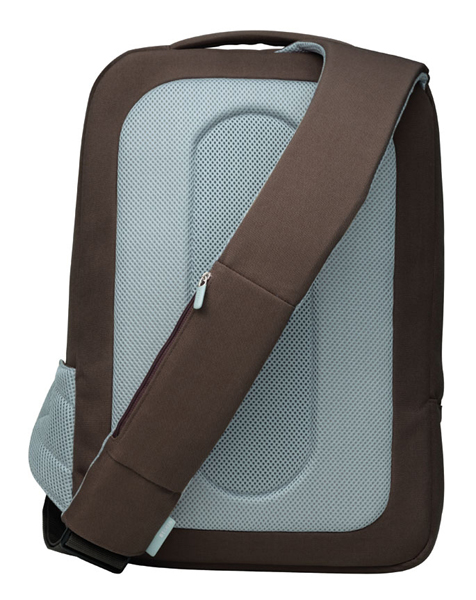 Amazon.com: Belkin Laptop Sling Bag (Chocolate/Tourmaline): Belkin ...