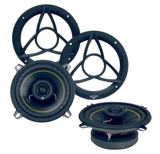 Amazon.com: Kicker 07DS5250 525-Inch 130mm Coax Speakers