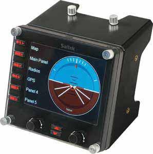 Insert Alt Text here  Saitek PC Pro Flight Instrument Panel B000VLNXRU7
