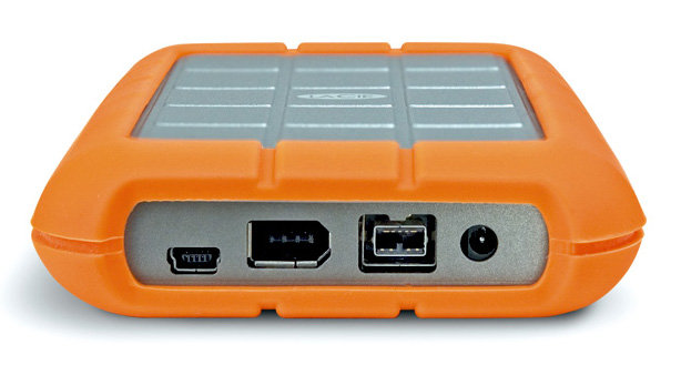 LaCie 301371 500 GB Rugged Hard Disk with FireWire 800, FireWire 400, and  USB