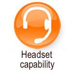 headset capability