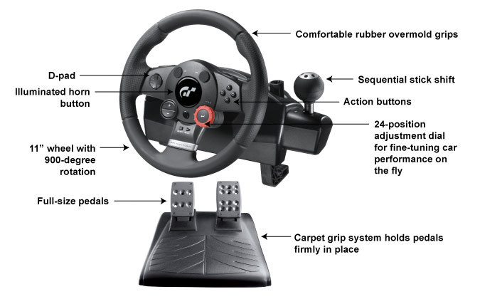 Logitech Driving Force GT Drivers Download for Windows 10 ...