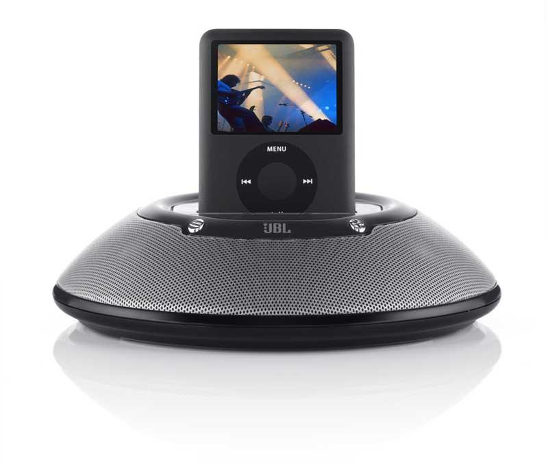 sale retailer cab50 43b97 JBL On Stage Micro Portable Speaker Dock for iPod (Black)