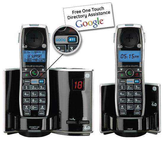 Ge dect 6. 0 cordless phone ge31591ge.