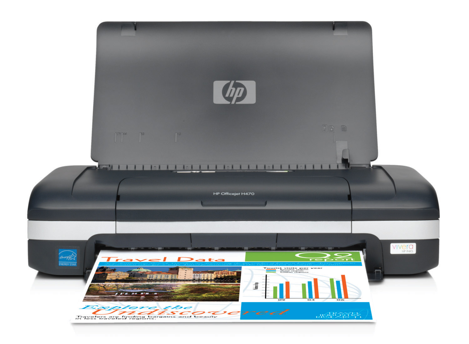 HP Officejet H470wbt Mobile Printer