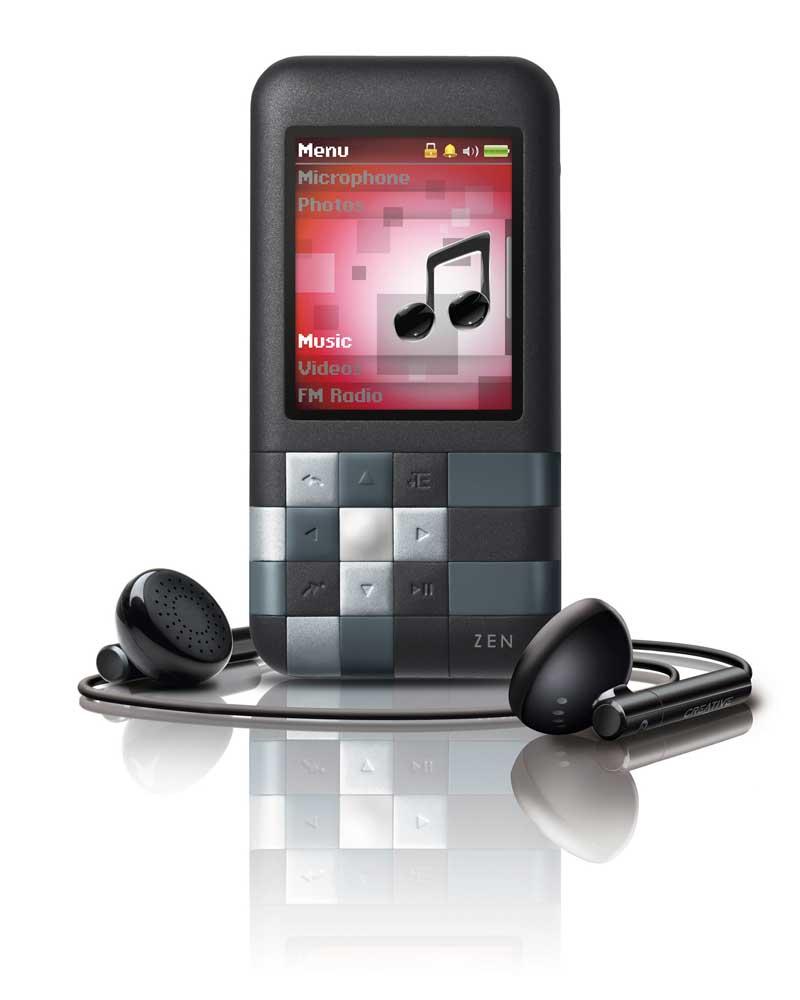 Mp3: Amazon.com: Creative Zen Mozaic 4 GB MP3 Player (Black