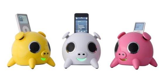 Amazon.com: Speakal iPig 2.1 Stereo iPod Docking Station
