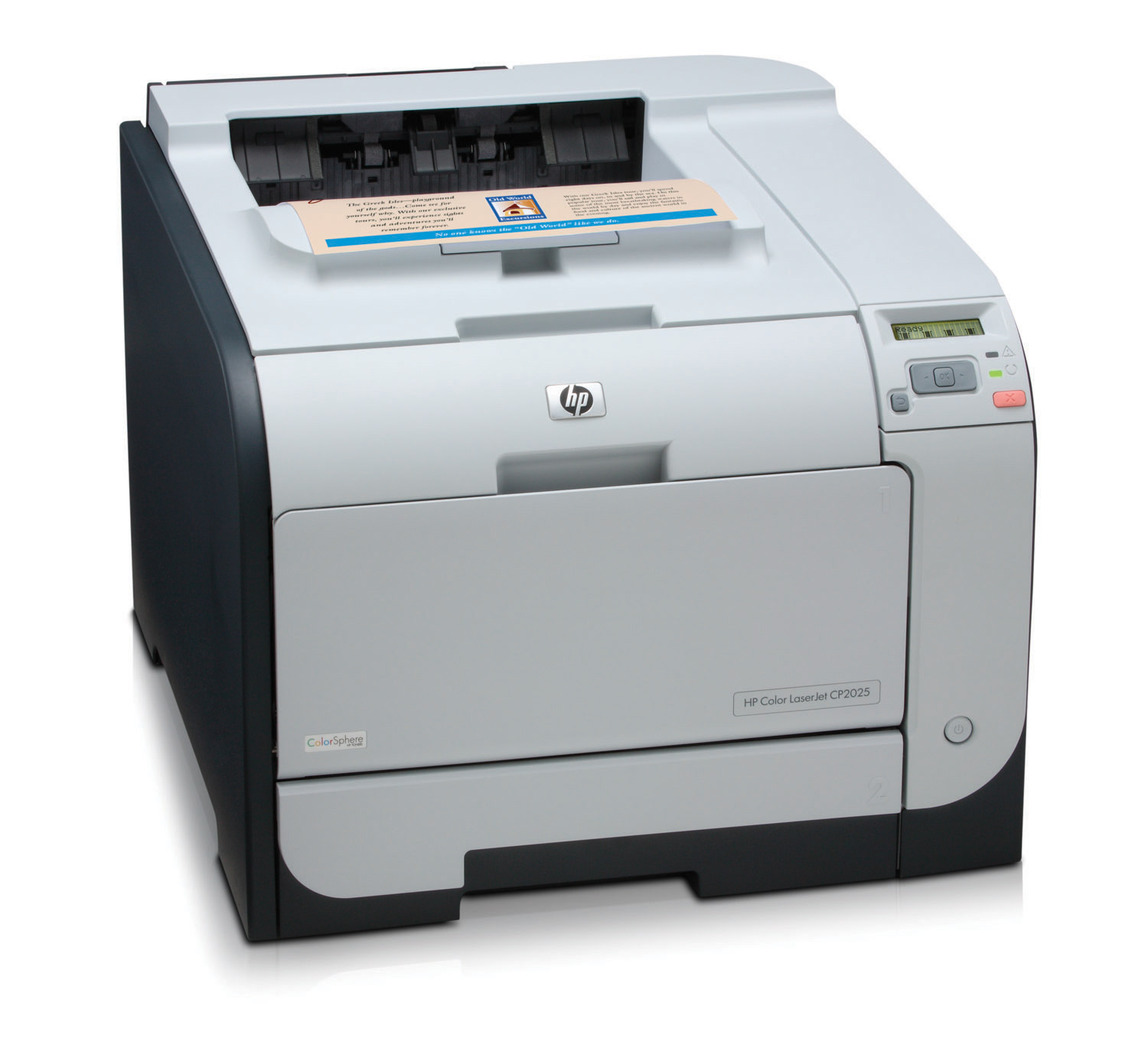 HP Color LaserJet CP2025n Printer