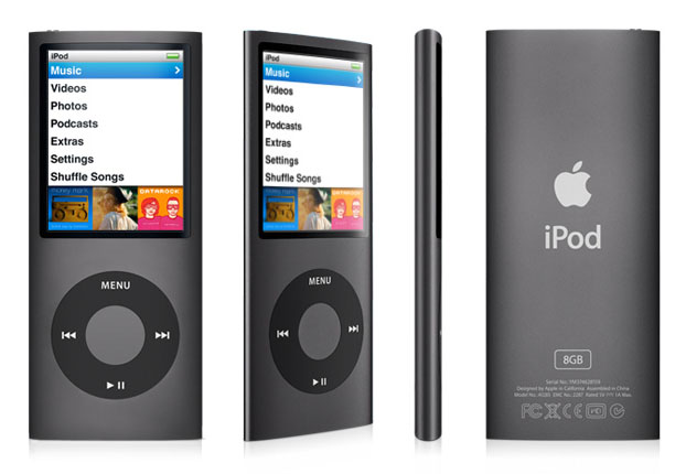 Amazon.com: Apple iPod nano 8 GB Black (4th Generation ...