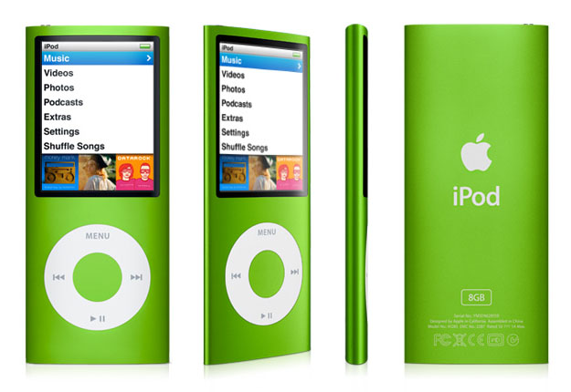 Amazon.com: Apple iPod nano 8 GB Green (4th Generation ...
