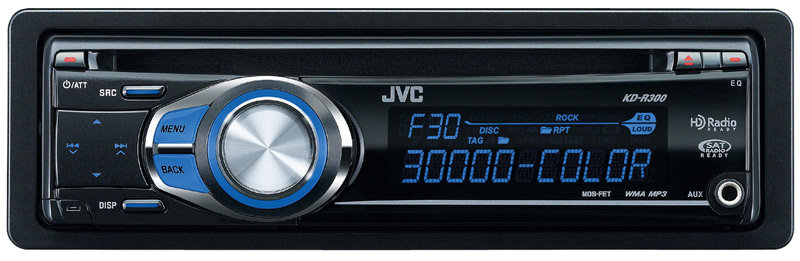 amazon com jvc kd r300 30k color illumination single din cd a great way to kick off a new system