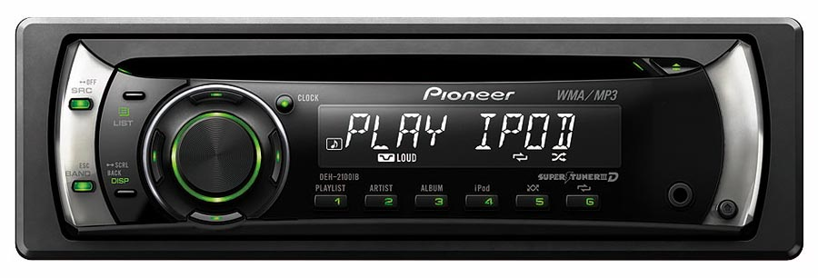 Amazon Pioneer Deh2100ib Scd Receiver With Ipod Control Rhamazon: Deh 2100 Pioneer Car Stereo Wiring Diagram At Elf-jo.com