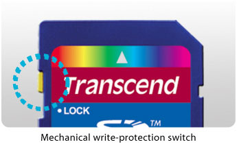 Mechancial write-protection switch