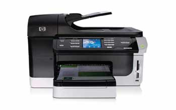 HP Officejet 8500 Wireless All-in-One Front View