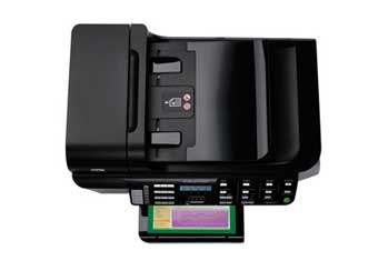 HP Officejet 8500 All-in-One Top View