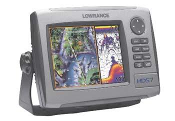 Lowrance HDS-7 Fishfinder/GPS Chartplotter