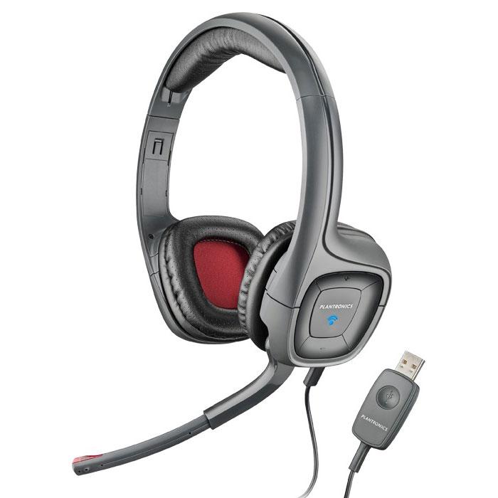 Amazon Plantronics Audio 655 USB Multimedia Headset With Noise