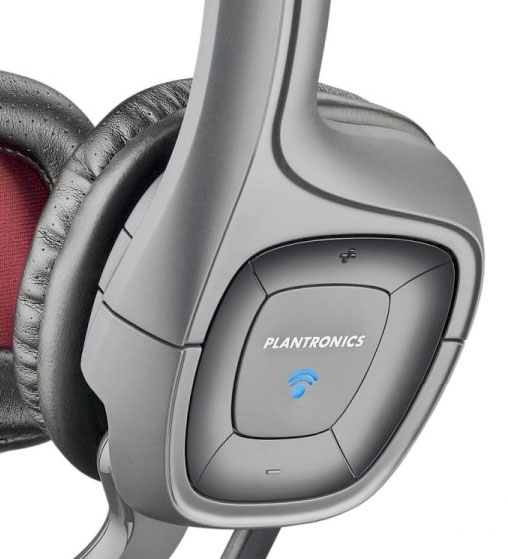 Plantronics audio 655 USB headset with Mic Unboxing and ...