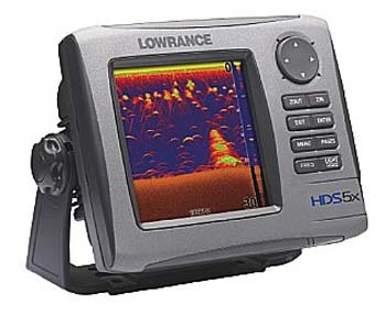 Lowrance hds 5x multifunction echosounder 5 for Phone fish finder