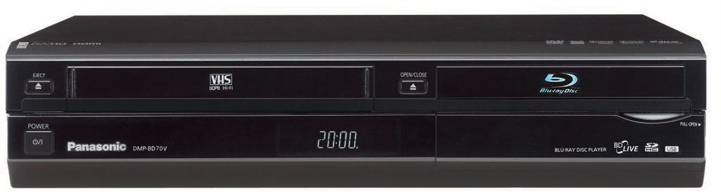 Amazon Panasonic DMP BD70V Blu Ray Disc VHS Multimedia Player