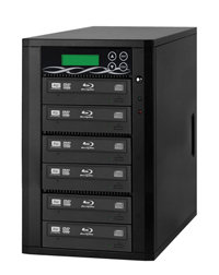Spartan 12X All-in-One 3 Targets SATA Blu Ray Tower Duplicator with Pioneer Drive Duplication Tower from SD;CF;USB;BD//DVD to BD//DVD Disc