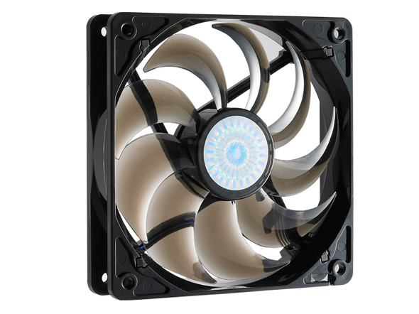 ... Fan for Computer Cases, CPU Coolers, and Radiators (Smoke Color