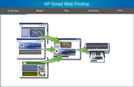 HP Smart Web Printing