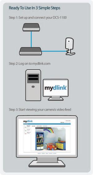 D-Link DCS-1100 IP Camera XP