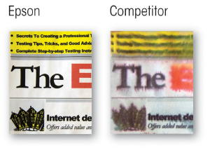 Epson & Competition