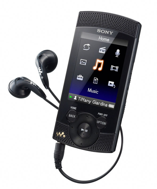 Amazon.com: Sony NWZS545 16 GB Walkman MP3 Video Player